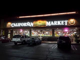 California Fresh Market - night