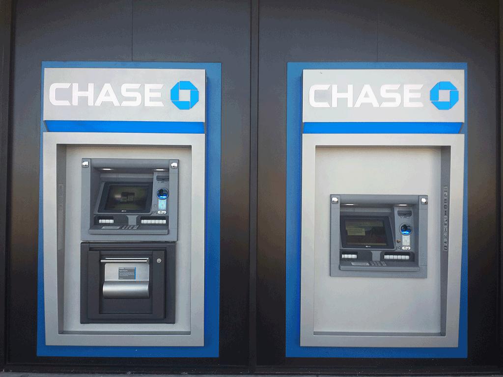 Chase Bank Kiosk